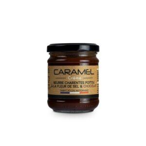 Crème caramel au beurre salé AOP Charentes Poitou et Chocolat