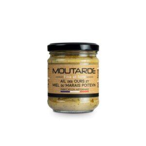 Moutarde fine ail des ours et miel du marais Poitevin
