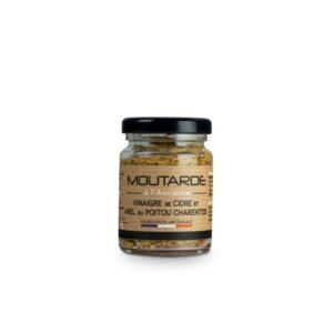 Moutarde à l'ancienne au cidre & miel du marais Poitevin