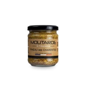 Moutarde à l'ancienne au Pineau des Charentes