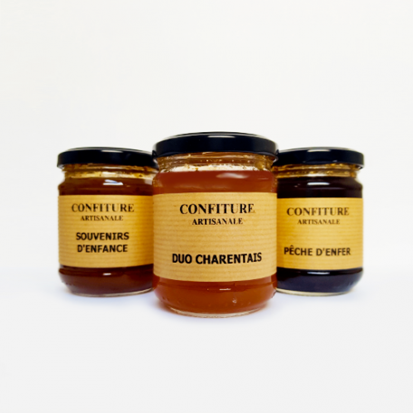 Confiture Duo Charentais - La Moutarderie Charentaise