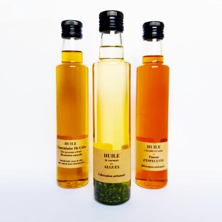 Huile aux algues - La Moutarderie - Confiserie