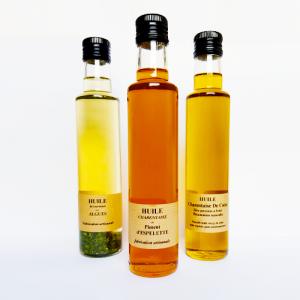 Huile au piment d'Espelette - La Moutarderie - Confiserie