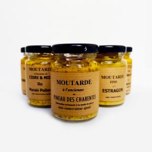 Moutarde au Pineau des Charentes - La Moutarderie confiserie