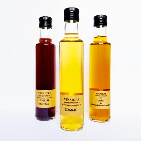 Vinaigre de cognac - La Moutarderie confiserie de Nouvelle-Aquitaine