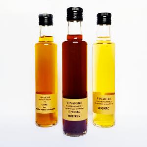 Vinaigre spécial huîtres - La Moutarderie confiserie de Nouvelle-Aquitaine